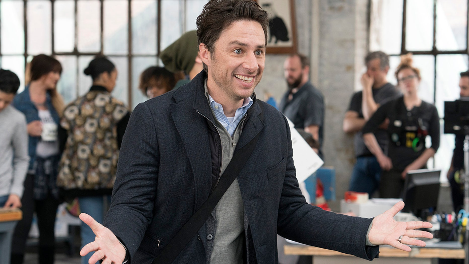 """Zach Braff stars in """"Alex, Inc.,"""" a new series based on the story behind the creation of the podcast """"Startup."""""""