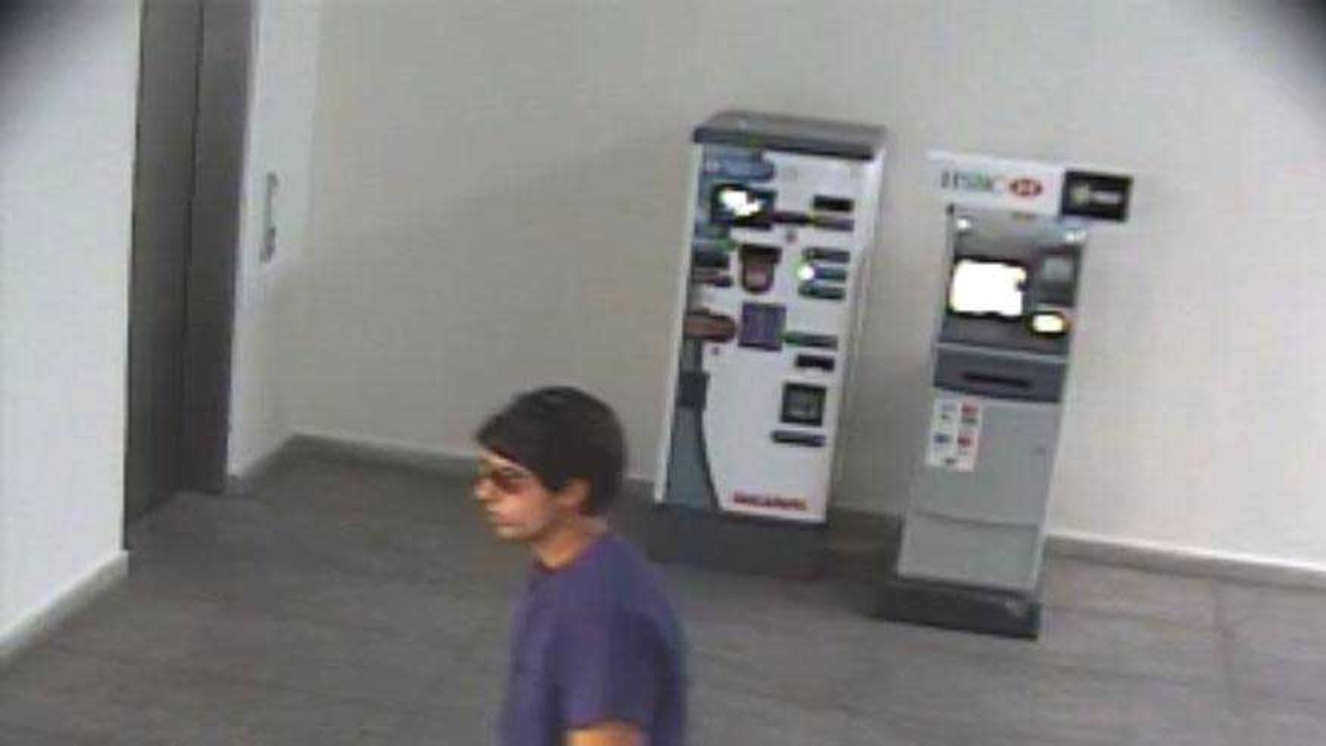 One of the surveillance photos provided by the U.S. Attorney's Office.