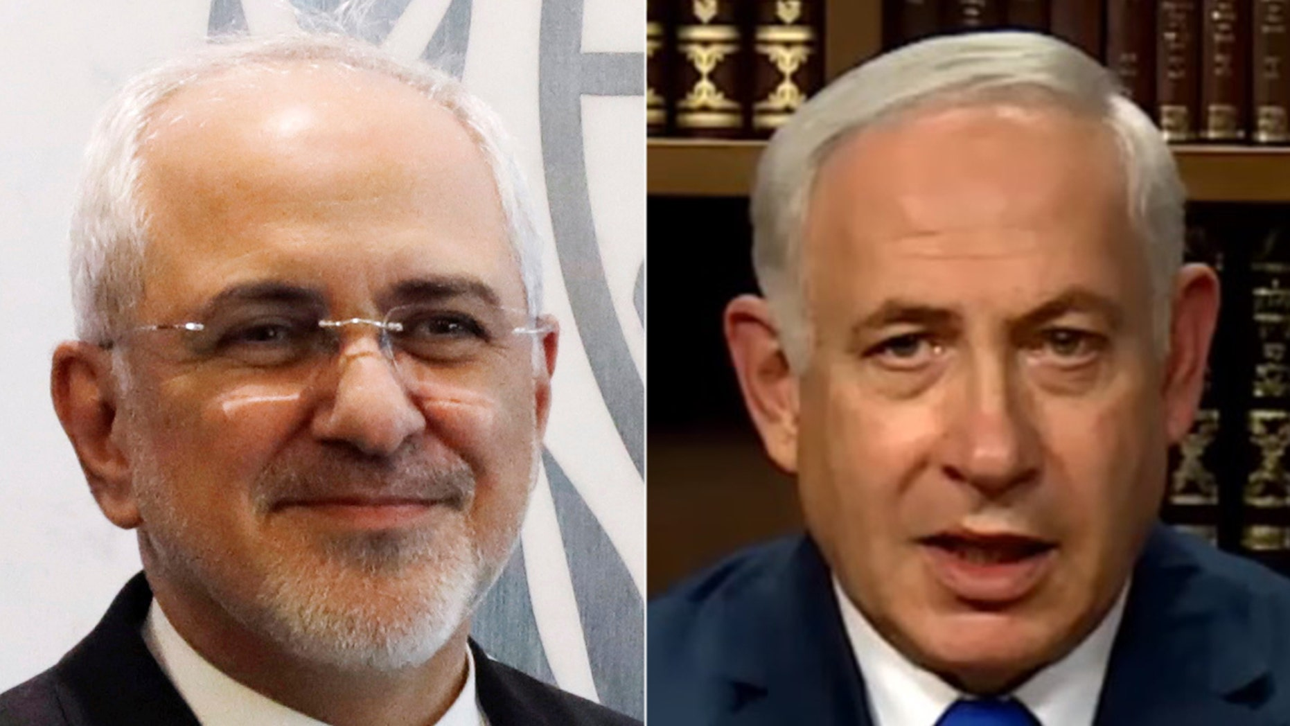 """In a video message posted online Monday, Israeli Prime Minister Benjamin Netanyahu had some choice words for Iran's foreign minister: """"Delete your account."""""""