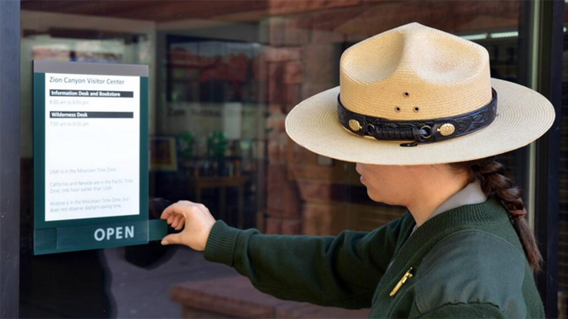 Parts of Zion National Park are already open, including Zion Canyon and Kolob Canyons Visitor Centers.