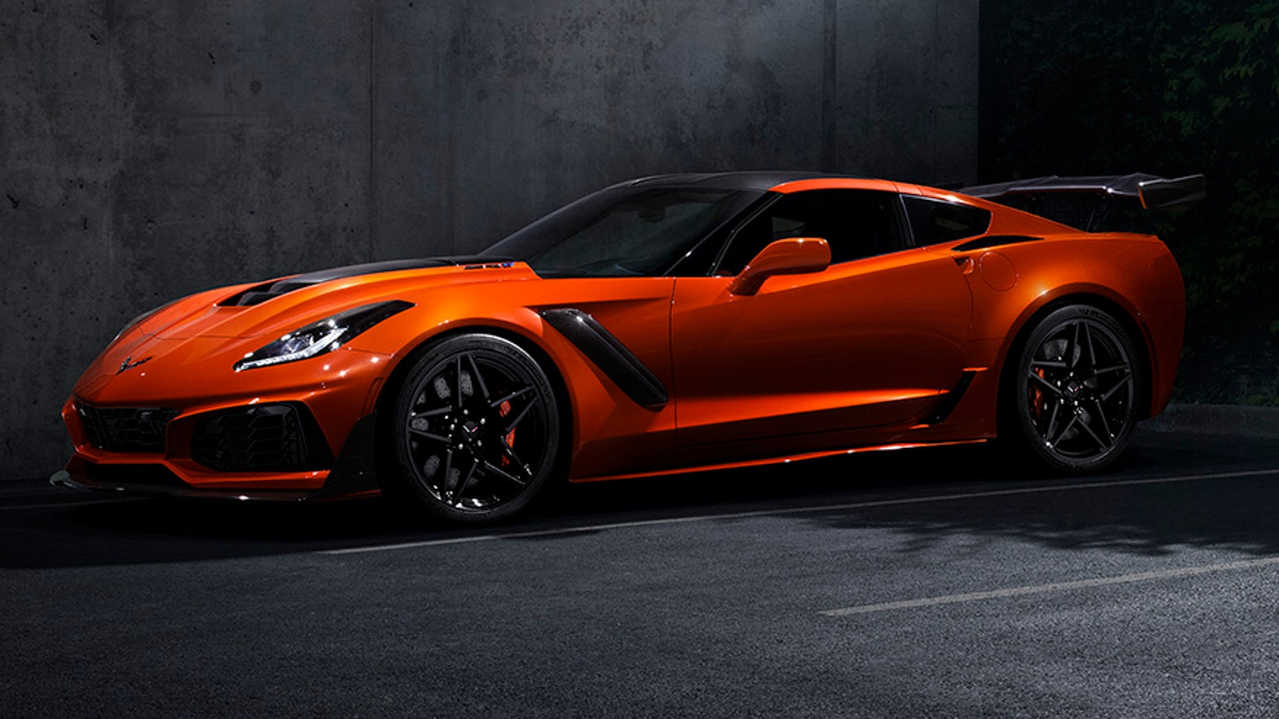The fastest, most powerful production Corvette ever: the 755-horsepower 2019 ZR1.