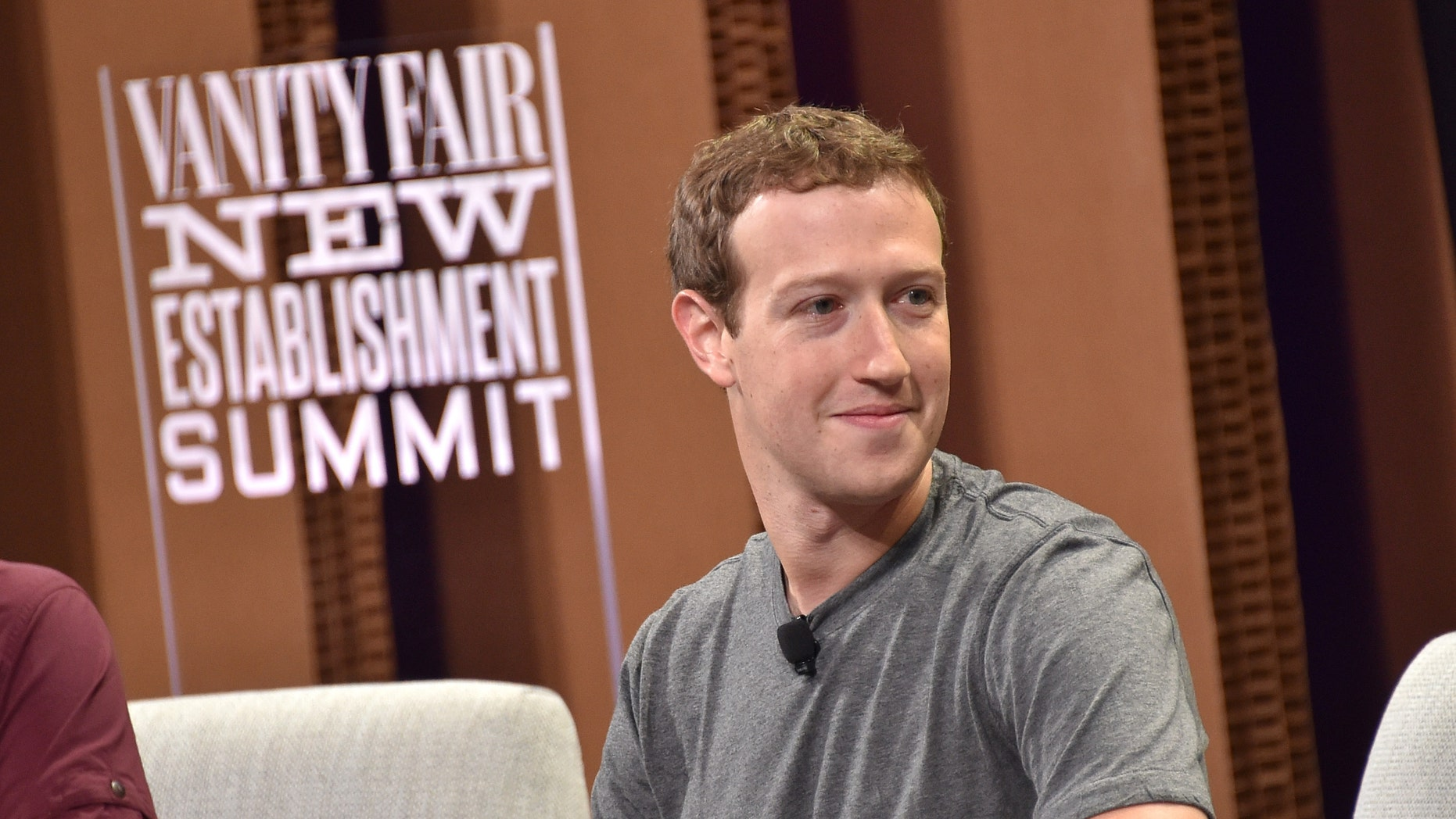 Mark Zuckerberg at Yerba Buena Center for the Arts on October 7, 2015 in San Francisco.