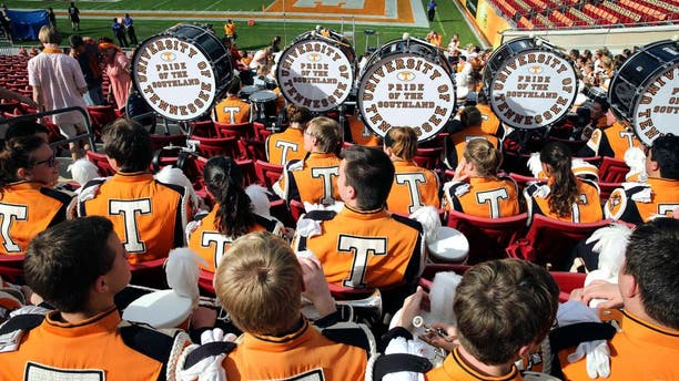 Jan 1, 2016; Tampa, FL, USA; Tennessee Volunteers band members before the game against the Northwestern Wildcats in the 2016 Outback Bowl at Raymond James Stadium. Mandatory Credit: Mark Zerof-USA TODAY Sports