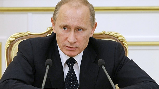 Jan. 25: Russian Prime Minister Vladimir Putin chairs a Cabinet meeting in Moscow.