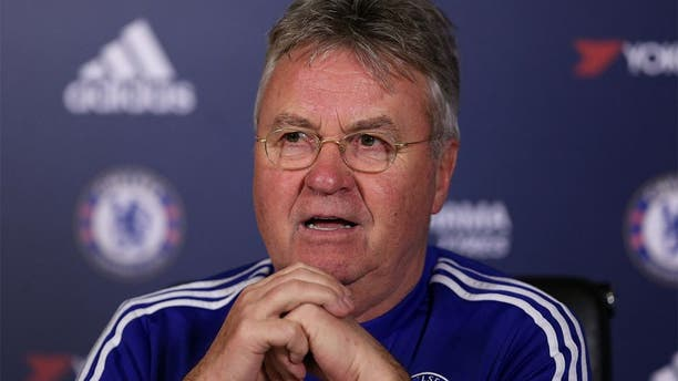 Football Soccer - Chelsea - Guus Hiddink Press Conference - Chelsea Training Ground - 12/2/16 Chelsea manager Guus Hiddink during the Press Conference Action Images via Reuters / Matthew Childs Livepic EDITORIAL USE ONLY.