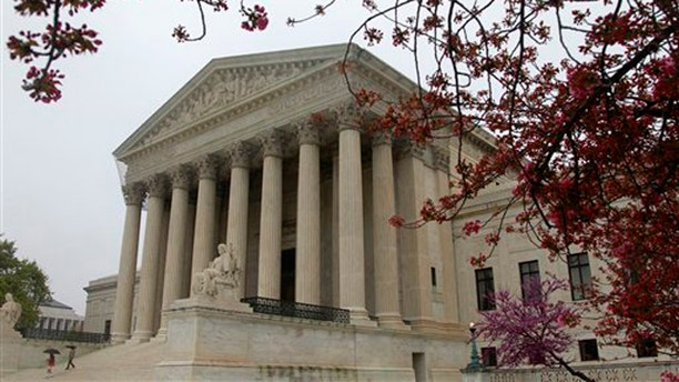 FILE: The United States Supreme Court is seen in Washington, ahead of the landmark hearings on the federal health care overhaul.