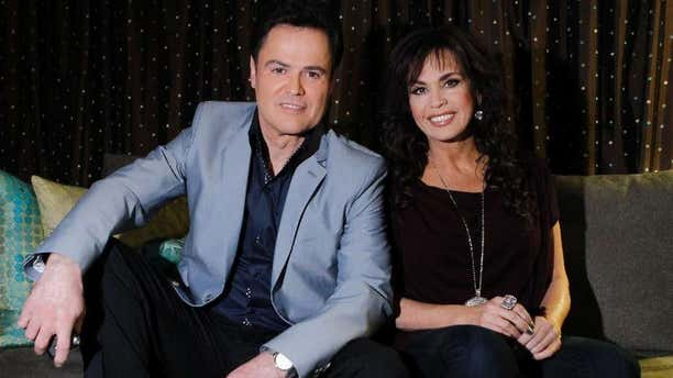 """Entertainment icon Donny Osmond returned to """"Dancing with the Stars"""" on Monday night"""