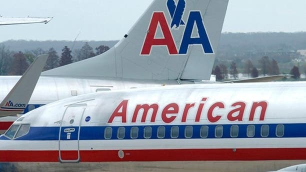 A lawsuit filed Thursday in New York alleges that American Airlines failed to make an emergency stop after a beverage cart struck a passenger's head during takeoff, leaving the man with a severe brain injury.