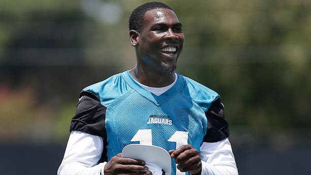 Jul 29, 2016; Jacksonville, FL, USA; Jacksonville Jaguars wide receiver Marqise Lee (11) walks to sign autographs during training camp at Practice Fields at EverBank Field. Mandatory Credit: Reinhold Matay-USA TODAY Sports
