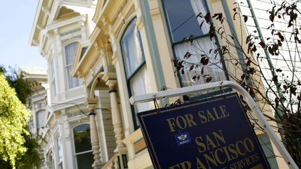 A home is shown for sale in the Haight Ashbury neighborhood in San Francisco (Reuters).