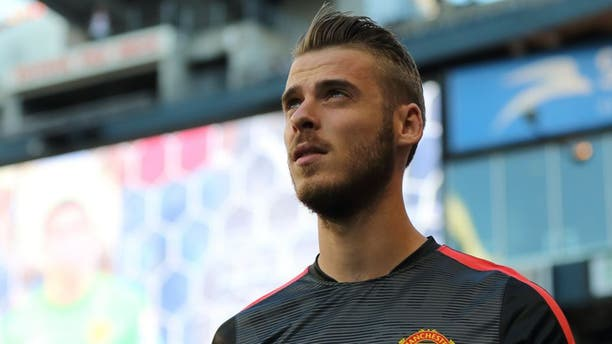 SEATTLE, WA - JULY 17: Goalkeeper David de Gea of Manchester United during the International Champions Cup 2015 match between Club America and Manchester United at CenturyLink Field on July 17, 2015 in Seattle, Washington. (Photo by Matthew Ashton - AMA/Getty Images)