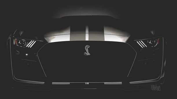 Ford has revealed several teaser photos of the GT500.
