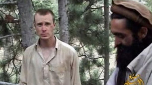 "This image provided by IntelCenter Wednesday Dec. 8, 2010 shows a framegrab from a new video released by the Taliban containing footage of a man believed to be Spc. Bowe Bergdahl, the only known American serviceman being held in captivity in Afghanistan, a group that tracks militant messages on the Internet said Wednesday. (AP Photo/IntelCenter)  MANDATORY CREDIT: INTELCENTER; NO SALES; EDS NOTE: ""INTELCENTER"" AT LEFT TOP CORNER ADDED BY SOURCE"
