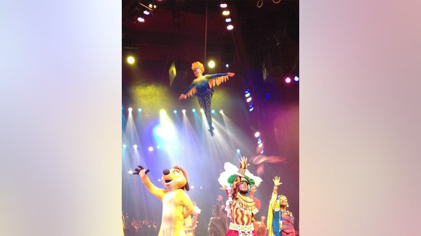 A 33-year-old former Disney World aerial dancer is taking the entertainment giant to court.