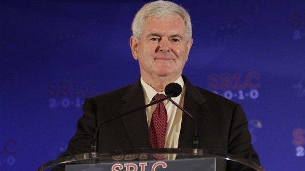 Former Speaker of the House Newt Gingrich