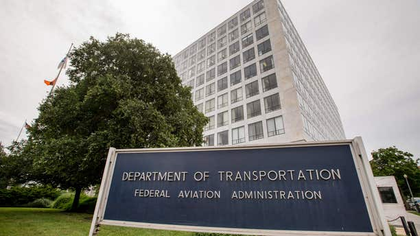 In this photo taken June 19, 2015, the Transportation Department's Federal Aviation Administration (FAA) building in Washington.
