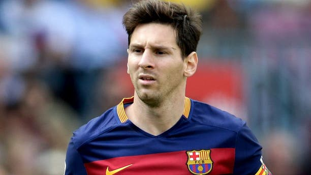 Lionel Messi of FC Barcelona during the Primera Division match between FC Barcelona and Las Palmas on September 26, 2015 at Camp Nou stadium in Barcelona, Spain.(Photo by VI Images via Getty Images)