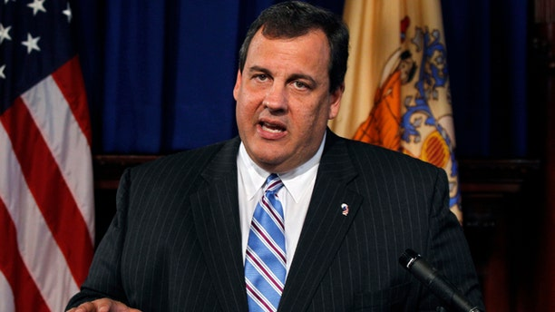 FILE: New Jersey Gov. Chris Christie