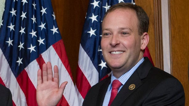 Rep. Lee Zeldin said he introduced the bill in response to a string of violent crimes committed by MS-13 gang members on Long Island, where violent crime has escalated. (AP Photo/Jose Luis Magana)