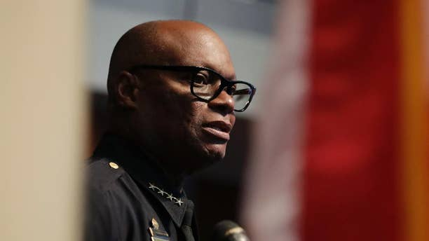 Dallas Police Chief David Brown in July.