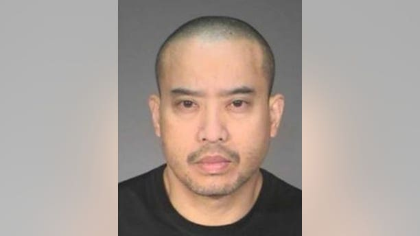 Lucifer Vincent Nguyen, 44, is wanted in connection with the woman's death in Mendota Heights on Saturday. (Mendota Heights Police Department)