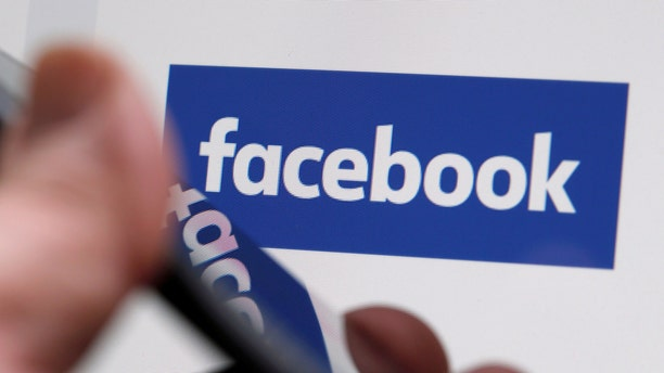 File photo: The Facebook logo is displayed on their website in an illustration photo taken in Bordeaux, France, February 1, 2017. (REUTERS/Regis Duvignau)