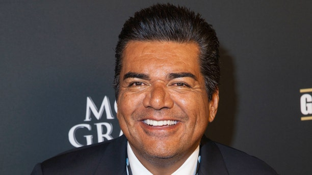 Sept. 14, 2013. George Lopez arrives at the VIP Pre-Fight Party for the One: Mayweather vs. Canelo Fight at the MGM Grand Garden Arena in  Las Vegas.