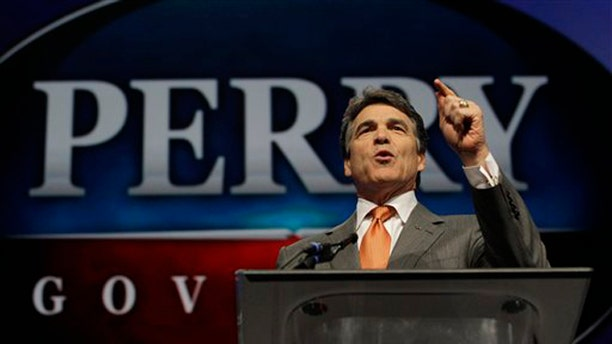 June 7, 2012: Texas Gov. Rick Perry speaks during the Texas Republican Convention in Fort Worth, Texas.