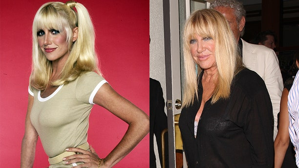 """""""Three's Company"""" star Suzanne Somers."""