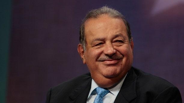 Mexican businessman Carlos Slim Helu, one of the world's richest men.