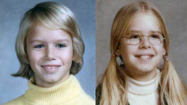 These photos show Katherine and Sheila Lyon, who were last seen March 25, 1975 near their home in Wheaton, Md. (MyFoxDC.com/Montgomery County Police)