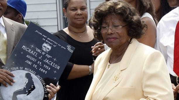 June 25: Katherine Jackson, mother of pop star Michael Jackson, attends a ceremony at the family's old home in Gary, Indiana.