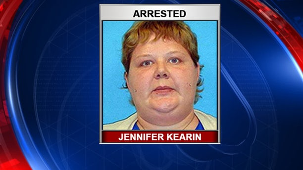 Jennifer Kearin was arrested Monday.