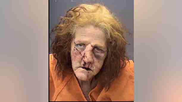 Jacqueline Burge, 54, faces nine charges after a car chase led to a head-on collision.