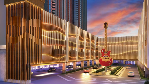 The resort will feature a 119,657 sq. foot gaming floor. The casino will contain 2,144 new slot machines and 120 new table games. The Hard Rock will feature VIP lounges adorned with crystal glass ceilings and signature memorabilia.