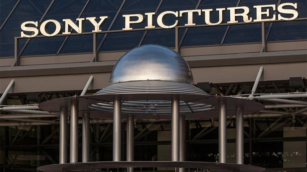 The exterior view of the Sony Pictures Plaza building in Culver City, Calif.