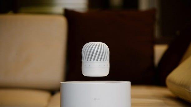 LG's Levitating Portable Speaker (LG).