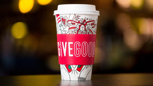 Starbucks' holiday campaign, Give Good, is featured on the new coffee sleeves
