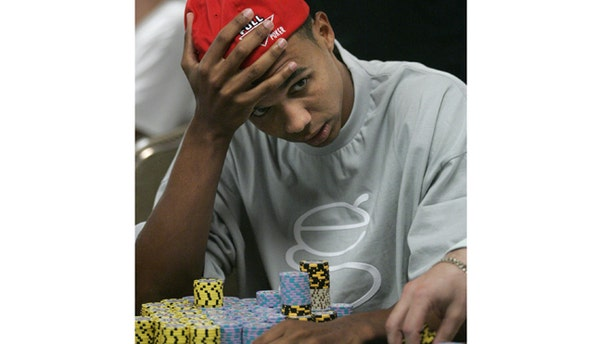July 13, 2005: Phil Ivey of Atlantic City, New Jersey competes in the $10,000 buy-in, no limit Texas Hold 'Em main event during the 36th annual World Series of Poker at the Rio All-Suite Hotel & Casino in Las Vegas, Nevada.
