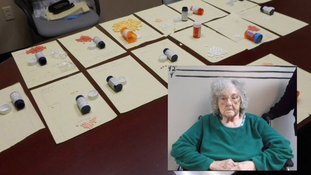 """Berry Jean Jordan, nicknamed the """"Kingpin Granny,"""" has been charged with selling opioids and prescription drugs from her Tennessee home."""