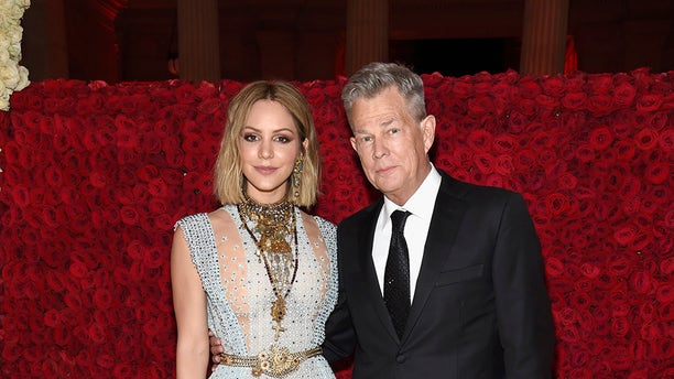 """Singer Katharine McPhee of """"American Idol"""" fame confirmed her long-rumored romance with music producer David Foster at the annual Met gala in New York City where she told ET they were having """"a nice date night."""" <b><a href=""""https://www.etonline.com/katharine-mcphee-and-david-foster-make-met-gala-debut-as-a-couple-with-a-nice-date-night-exclusive"""" target=""""_blank"""">MORE: KATHARINE MCPHEE AND DAVID FOSTER MAKE MET GALA DEBUT AS A COUPLE</a></b>"""