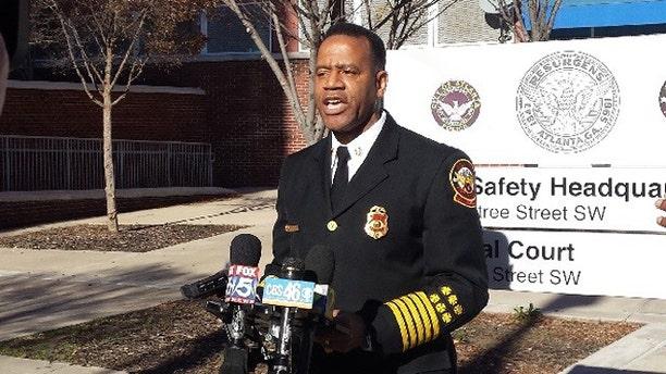 Former Atlanta Fire Chief Kelvin Cochran