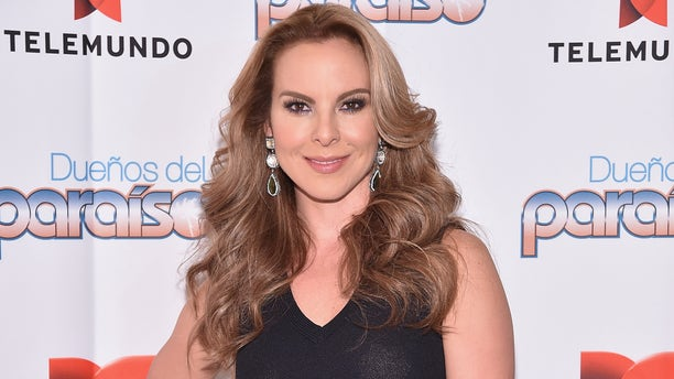 NEW YORK, NY - JANUARY 10:  Kate del Castillo poses for a picture at the NBC Experience Store on January 10, 2015 in New York City.  (Photo by Mike Coppola/Getty Images)