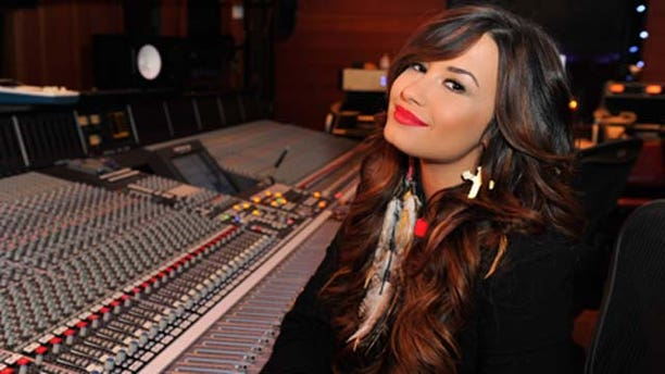 July 21, 2011: Actress/singer Demi Lovato attends a Live Chat at Cambio Studios in Hollywood, Calif.