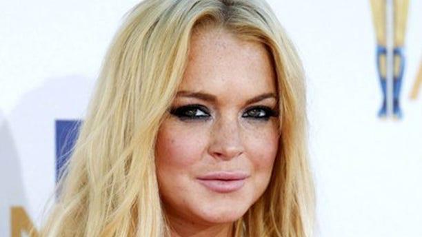 Lindsay Lohan at the 2010 MTV Movie Awards