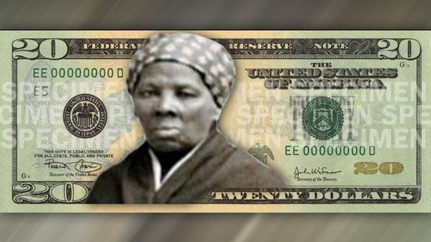 An artist's rendition of how an image of Harriet Tubman, the Civil War-era abolitionist, might look on a $20 bill. (Fox News)