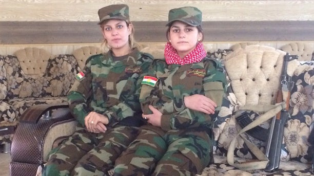 The Yazidi women are fighting for their people, and for revenge aganst the terrorists who enslaved them.