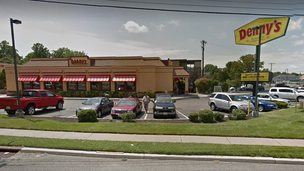 A brawl broke out in the early morning between 15 people at a Denny's in Vineland, N.J.