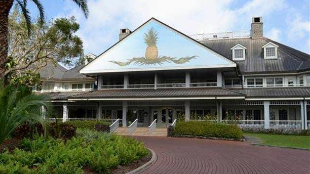 The Lodge at Koele in Lanai City, Hawaii, Jan 2015.
