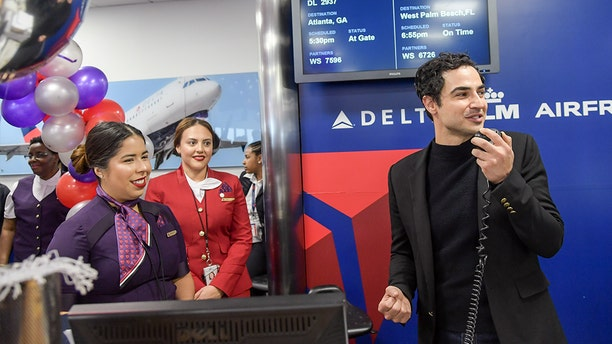 Zac Posen himself shadowed Delta staffers through the design process.